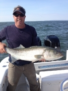 Sandy Hook Striper Fishing
