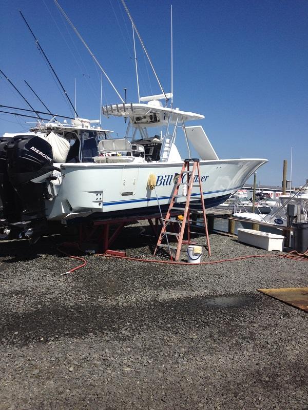 Highlands NJ. Charter Boat
