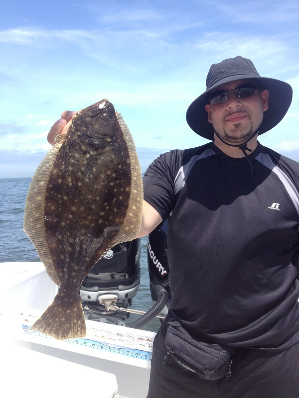 Sandy Hook NJ. Fluke Fishing