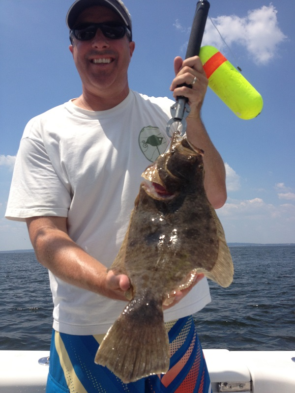 New york city fishing charter bill chaser sandy hook for Fluke fishing nj