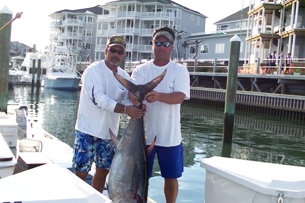 Inshore bluefin tuna charters sandy hook new jersey bill for Nj shore fishing report