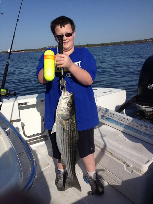 First Striped Bass