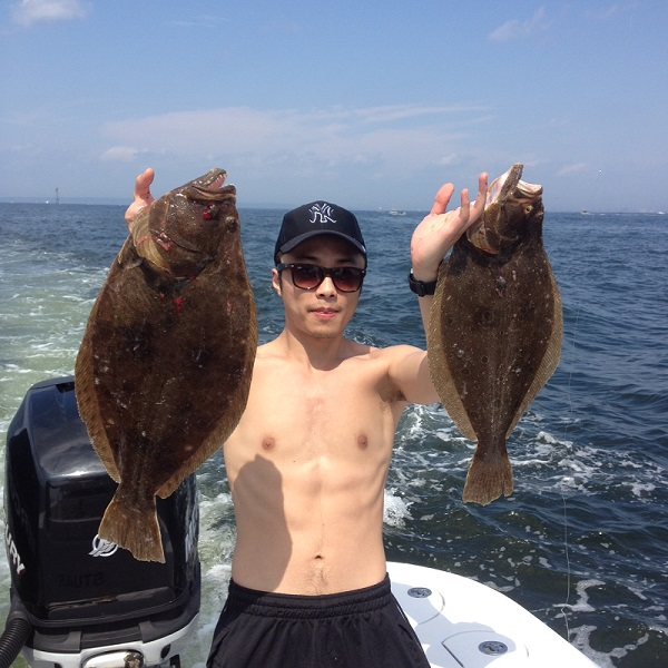 Fluke fishing trips sandy hook nj bill chaser sandy for Fluke fishing nj