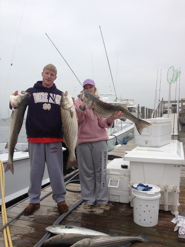 Nj salt fish 2013 03 29 bill chaser sandy hook for Fishing charters nj