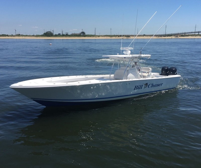 Bill chaser sandy hook fishing charters for Fishing charters nj
