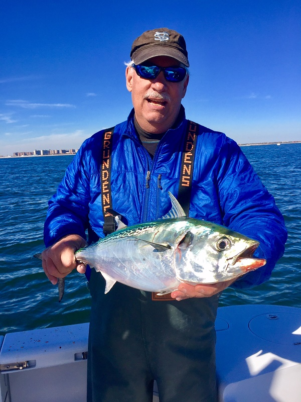 False Albacore Fly Fishing Trip