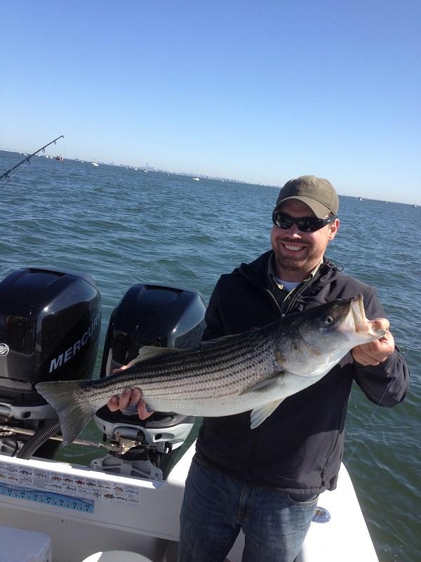 Nj salt fish 2013 05 28 bill chaser sandy hook for Nj saltwater fishing report