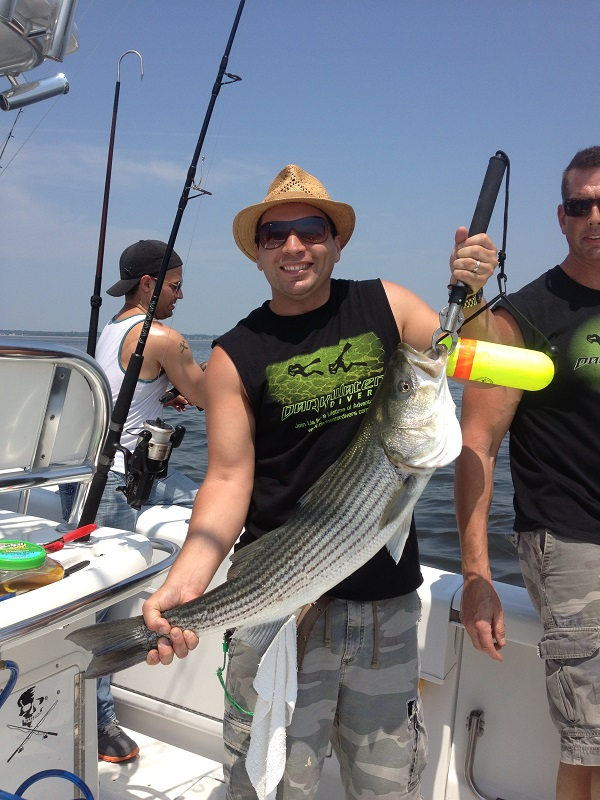 Striper Fishing Trip