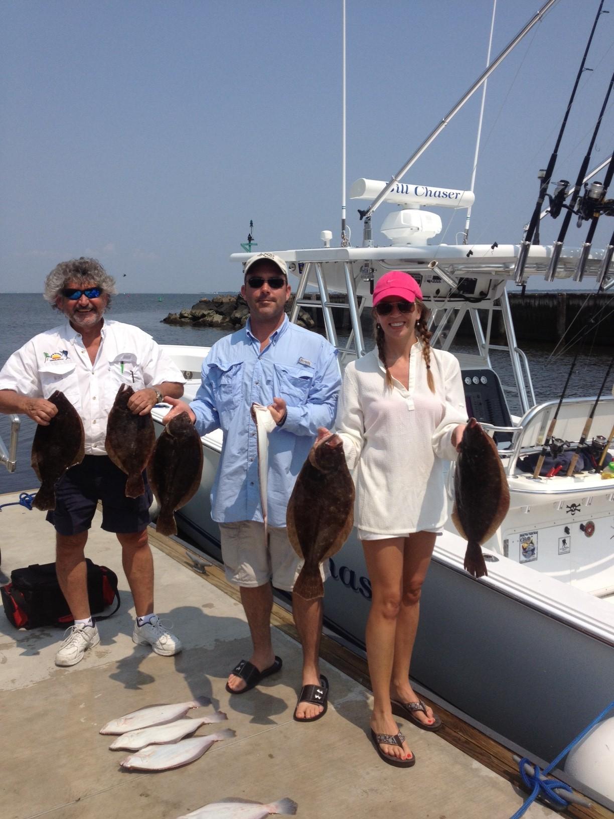 Nj salt fish 2012 08 18 bill chaser sandy hook for Atlantic highlands fishing report